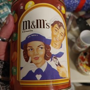 M&M collector tin
